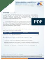 TUTORIAL ROTINA 1124 – TRANSFERIR PRODUSTOS ENTRE FILIAIS