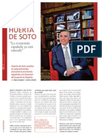 La economía española ya está saneada por Jesús Huerta de Soto