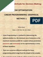 Topic 5_ Optimisation _ Graphical Method 1