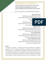 Suplementação alimentar da vitamina D na prevenção contra o vírus covid-19