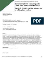 Deficiência de vitamina D (250H) e seu impacto na qualidade de vida_ uma revisão de literatura - Revista RBAC.pdf