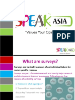 Speak Asia Compensation Plan PPT