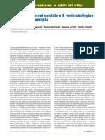 La prevenzione del suicidio e il ruolo strategico dei Medici di famiglia
