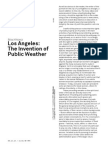 Los Angeles:The Invention of Public Weather by Bilal Khbeiz