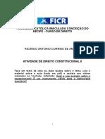 IMPEACHAMENT -RICARDO ANTONIO CORREIA DE ARAUJO-FR041742