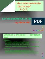 Plan de Ordenamiento Territorial P.O.T