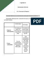 Instrumente Derivate - Futures, Forward, Swap, Optiuni