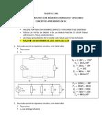 Taller Circuitos AC - Soluciónde circuitos con números complejos