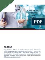 Identificación y Manejo de paciente posible COVID positivo