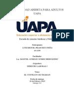 Tarea II, Derecho Laboral I