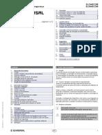 Manual de instruções Cortina de segurança Schmersal SLC440COM-ER-0890-30