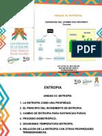 UNIDAD III ENTROPIA Uniguajira