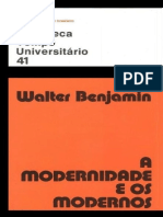 A Modernidade e os Modernos by Walter Benjamin .pdf