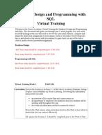 virtual training -9week