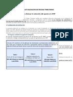 CASOS PRACTICOS DE ACTUALIZACION DE DEUDAS INFRACCCIONES AL CT