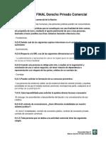 Preguntero FINAL Derecho Privado Comercial