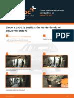 Cómo cambiar el filtro de combustible en BMW X3 E83