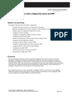 1 configuración básica de OSPF Daniel