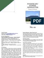 Pukeokahu Newsletter No. 2