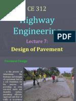 lec 7 - design of pavement