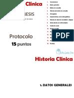 Tutorial - Historia clinica