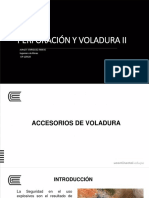 PV II tema IV Accesorios de voladura
