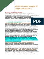 rééducation en pneumologie