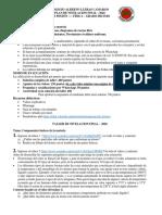 GUÍA DE NIVELACION FINAL FISICA - 2020 GRADO DECIMO