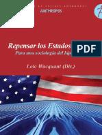 Loïc Wacquant (dir.) - Repensar los Estados Unidos - para una sociología del hiperpoder.pdf