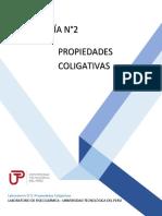 GUÍA N°2 PROPIEDADES COLIGATIVAS-FQ