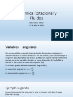 Rotacion y fluidos