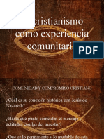 El cristianismo como experiencia comunitaria.pptx