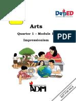 Arts-Q1-Module-1-Impressionism