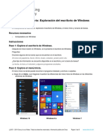 11.1.2.10 Lab - Explore the Windows Desktop
