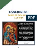 CANCIONERO BODAS DE CANA Z8 LN 2020 AMILCAR