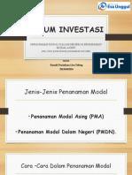 Tugas 2 PPT Hukum Investasi (Ronald Tobing)