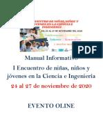 Manual Informativo del encuentro general