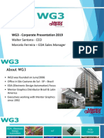 WG3 Corporate Presentation 2019 - Wide Screen - Customer