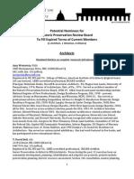 C100_HPRB_Candidates_List_(1-12-11)