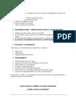 INSTRUCTIVO- LAVADO DE MANOS