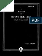 Mount McKinley National Park