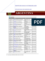 sudamericano sub20 1999 argentina