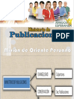 MINISTERIO DE PUBLICACIONES MOP-UPS