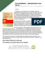 hay una cura para la diabetes pdf descargar