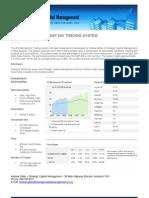 AG Mechwarrior - S&P 500 Trading System