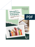 Educação e coordenação pedagógica a arte de ensinar aprender e coordenar.