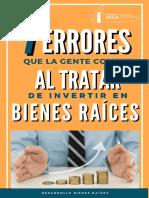 7 ERRORES AL TRATAR DE INVERTIR EN BR