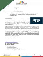 Informe No Vinculante sobre la Objeción Parcial al Proyecto de Ley Orgáncia Reforamtoria del Código Orgánico de la Función Judicial