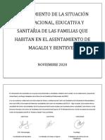 Relevamiento territorial en barrio Magaldi - Rosario