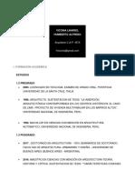 CV Humberto VICCINA